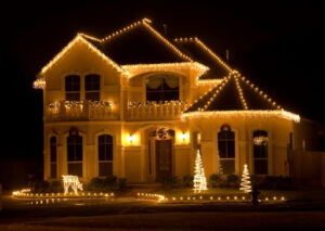 novosti - Новогоднее освещение зданий