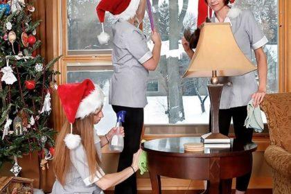 новогодняя уборка дома